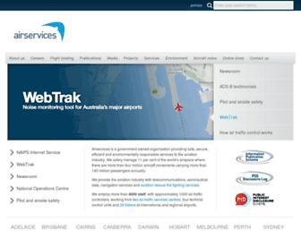 airservicesaustralia.com screenshot