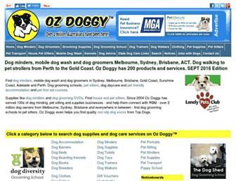 ozdoggy.com.au screenshot