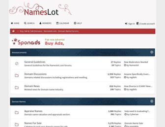 Thumbshot of Nameslot.com