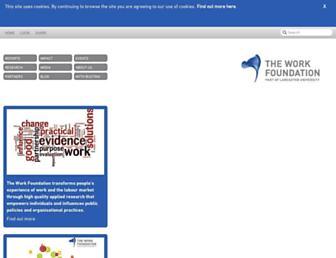 Thumbshot of Theworkfoundation.com