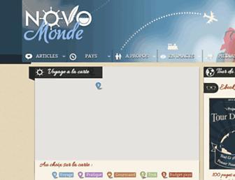 novo-monde.com screenshot