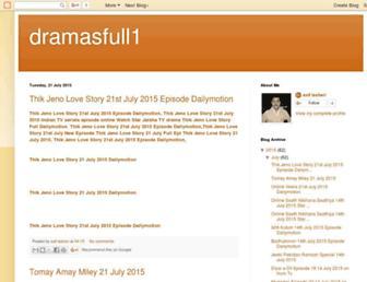 dramasfull1.blogspot.com screenshot