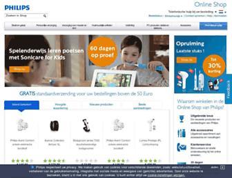 Thumbshot of Philipsstore.nl