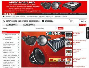 audiomobilbsd.com screenshot