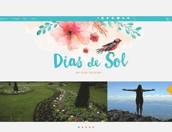 Thumbshot of Diasdesol.com.br