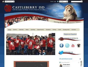 castleberryisd.net screenshot