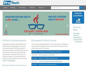 protechtraining.com screenshot