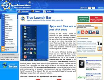 Thumbshot of Truelaunchbar.com