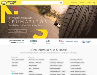 Thumbshot of Mercadolibre.com.ar