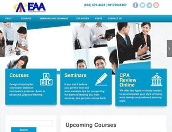 eaa.edu.ph screenshot