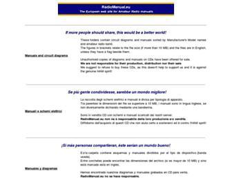 radiomanual.info screenshot