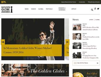 Thumbshot of Goldenglobes.com