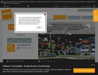 tuango.ca screenshot