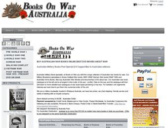 Thumbshot of Booksonwaraustralia.com