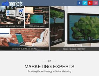 webmarketsonline.com screenshot
