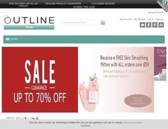 Thumbshot of Outlineskincare.co.uk