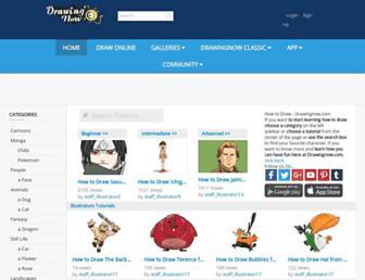 drawingnow.com screenshot