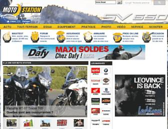 moto-station.com screenshot