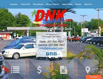 dnkselect.com screenshot