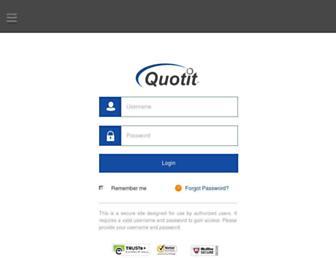 quotit.net screenshot