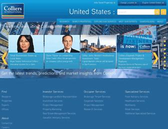 colliers.com screenshot