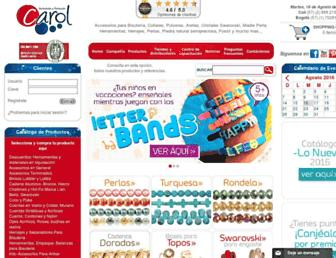 variedadescarol.net screenshot