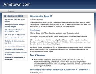 amdtown.com screenshot