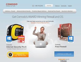 personalfirewall.comodo.com screenshot