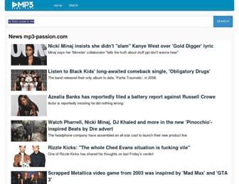 mp3-passion.com screenshot
