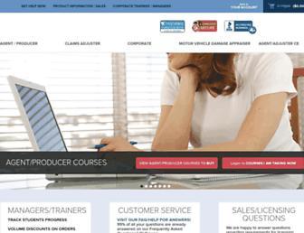 insurance-schools.com screenshot
