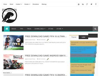 peurupi.blogspot.com screenshot