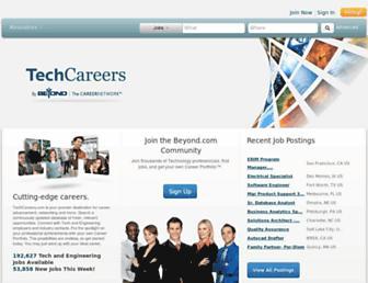 Thumbshot of Techcareers.com