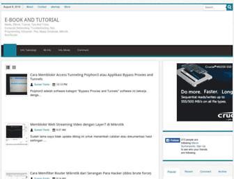 ebook-modul-tutorial.blogspot.com screenshot