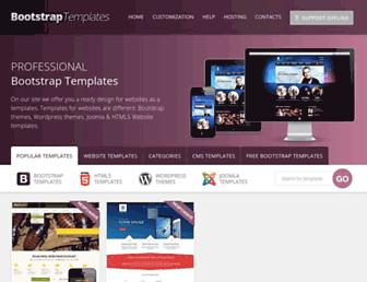 Thumbshot of Bootstrap-template.com
