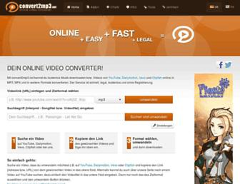 Thumbshot of Convert2mp3.net