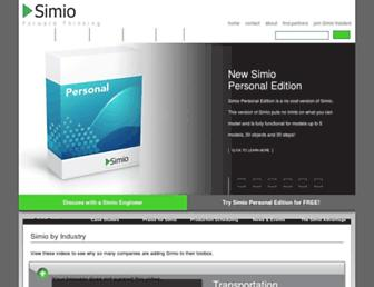 simio.com screenshot