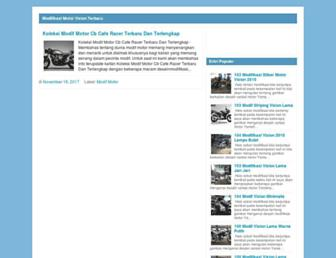 modifikasivixionbaru.blogspot.com screenshot
