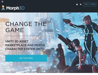 morph3d.com screenshot