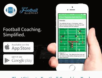 footballblueprint.com screenshot