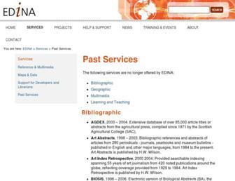 Main page screenshot of gogeo.ac.uk