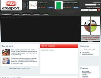 erasport.ro screenshot