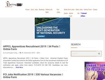 blog.coachingkaro.org screenshot