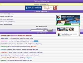 newmp3maza.com screenshot