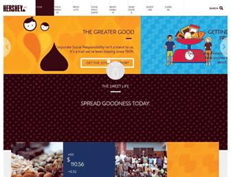 Thumbshot of Thehersheycompany.com