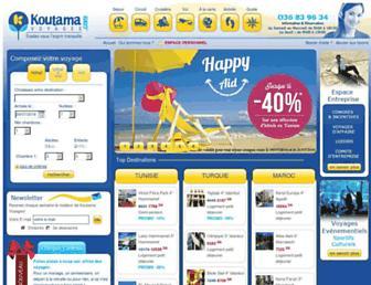 koutama-voyages.com screenshot