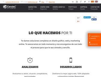 cerotec.net screenshot
