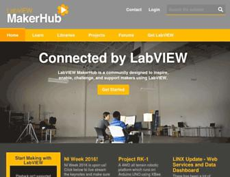 labviewmakerhub.com screenshot