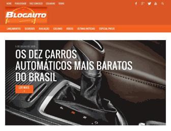 Thumbshot of Blogauto.com.br