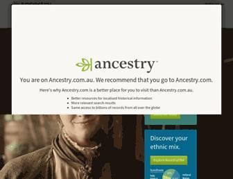 Thumbshot of Ancestry.com.au