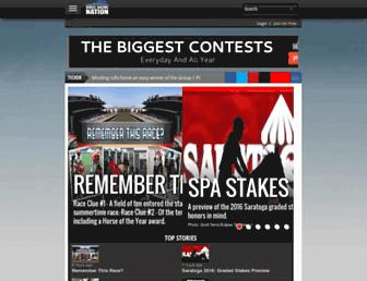 horseracingnation.com screenshot